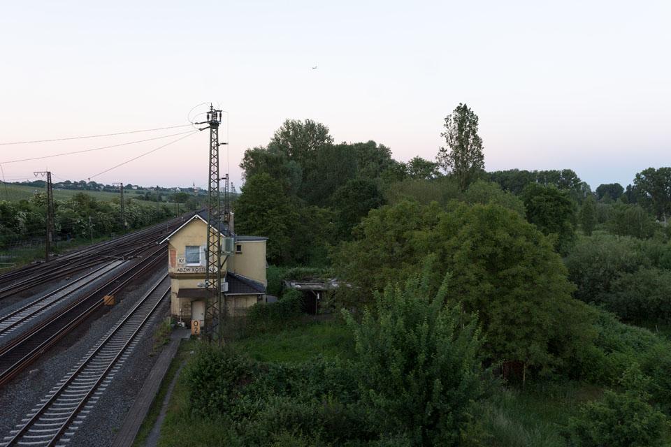 Altes Bahnwärterhäuschen