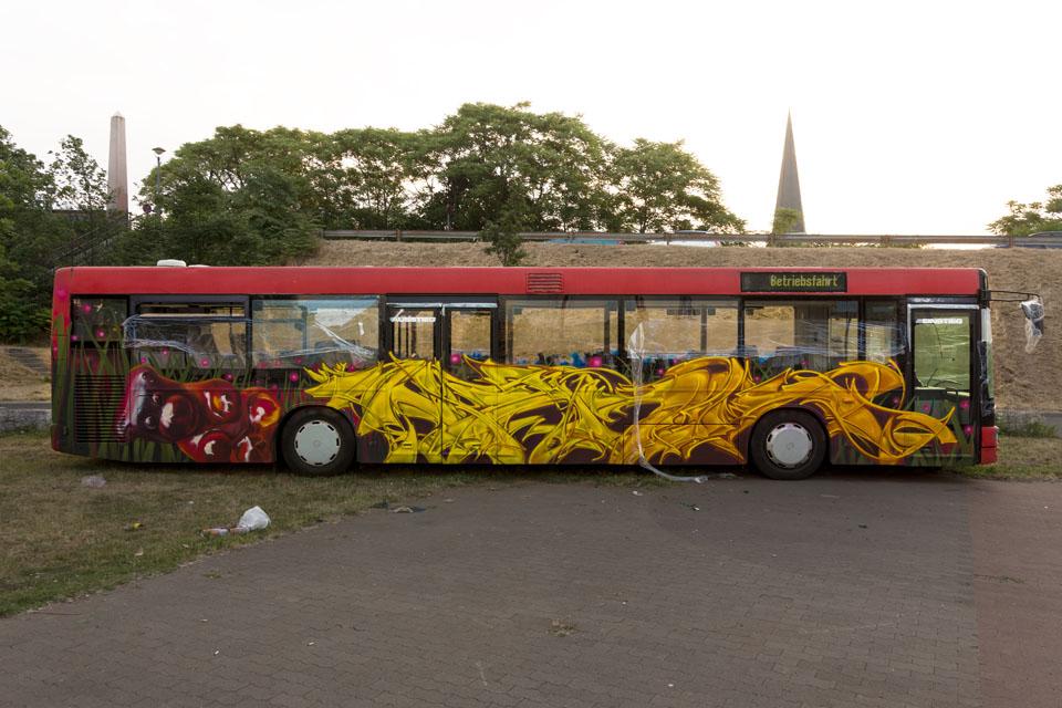Graffiti-Bus Meeting of Styles, Mainz-Kastel
