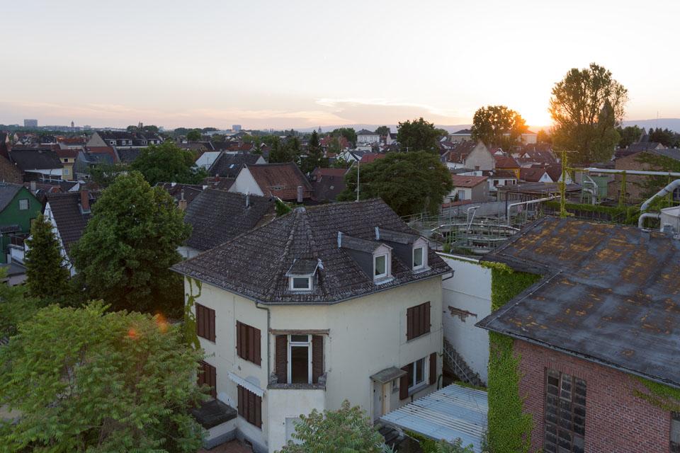 Abendstimmung über Mz-Kostheim