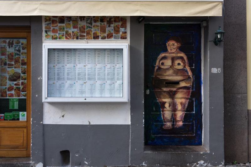 art of open door project in Rua de Santa Maria of Funchal #24