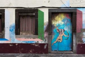 art of open door project in Rua de Santa Maria of Funchal #2