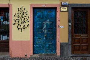 art of open door project in Rua de Santa Maria of Funchal #1