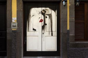 art of open door project in Rua de Santa Maria of Funchal #19