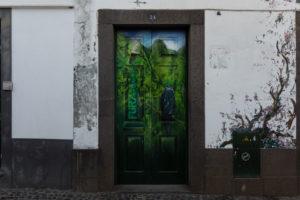 art of open door project in Rua de Santa Maria of Funchal #23