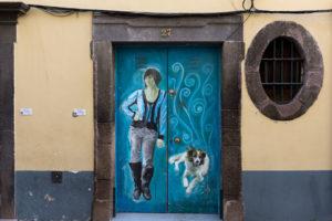 art of open door project in Rua de Santa Maria of Funchal #18