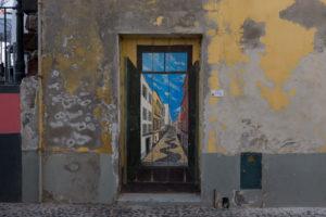 art of open door project in Rua de Santa Maria of Funchal #17