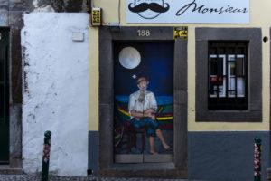 art of open door project in Rua de Santa Maria of Funchal #16