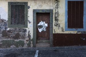 art of open door project in Rua de Santa Maria of Funchal #14