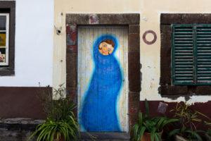 art of open door project in Rua de Santa Maria of Funchal #13