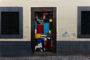 art of open door project in Rua de Santa Maria of Funchal #22