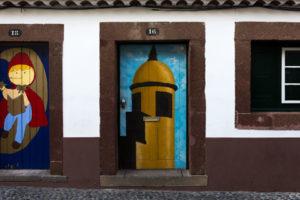 art of open door project in Rua de Santa Maria of Funchal #11