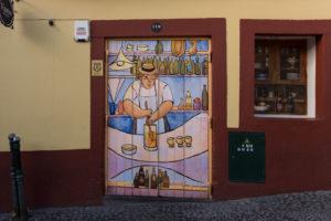 art of open door project in Rua de Santa Maria of Funchal #10