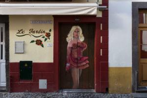 art of open door project in Rua de Santa Maria of Funchal #9