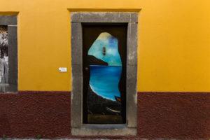 art of open door project in Rua de Santa Maria of Funchal #8