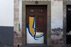 art of open door project in Rua de Santa Maria of Funchal #6