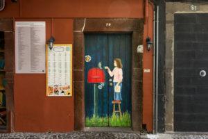 art of open door project in Rua de Santa Maria of Funchal #5