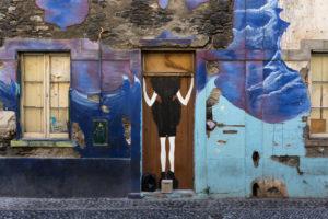 art of open door project in Rua de Santa Maria of Funchal #3