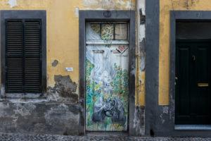 art of open door project in Rua de Santa Maria of Funchal #4