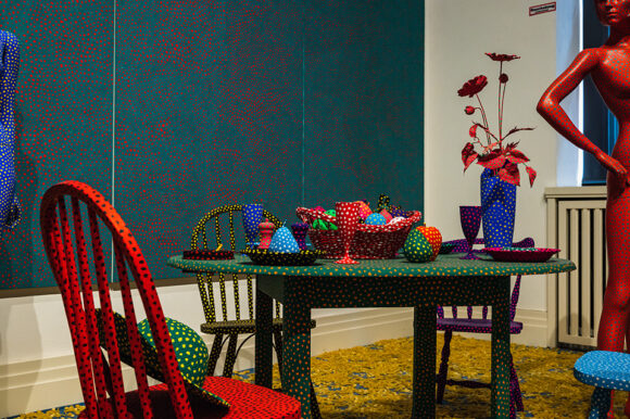 Yayoi Kusama A Bouquet of Love I Saw in the Universe