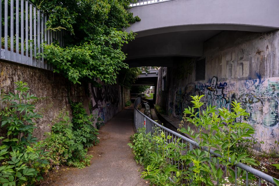 Urban Hiking #2 : am Lindenbach, Wiesbaden, Juni 2021